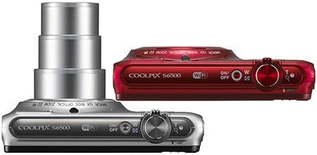 Nikon Coolpix S6500 shora