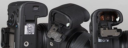 Canon EOS 6D - zdroj energie