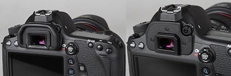 Canon EOS 6D - hledáček