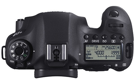 Canon EOS 6D shora