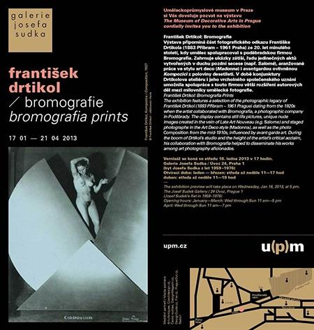 UPM: František Drtikol: Bromografie