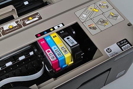 výměna kazety s inkoustem I