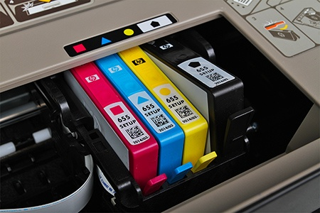 výměna kazety s inkoustem II