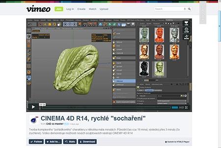CINEMA 4D R14, sculpting (1) - I