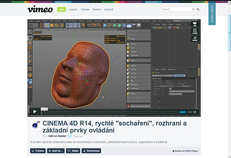 CINEMA 4D R14, sculpting (1) - II