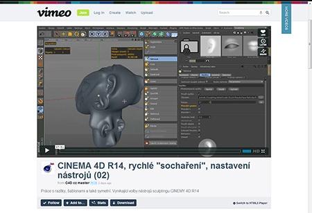 CINEMA 4D R14, sculpting (1) - IV