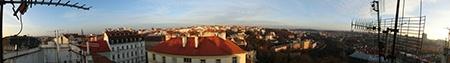Městská krajina VIII - panoráma