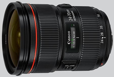 Canon EF 24–70 mm 1:2,8L II USM
