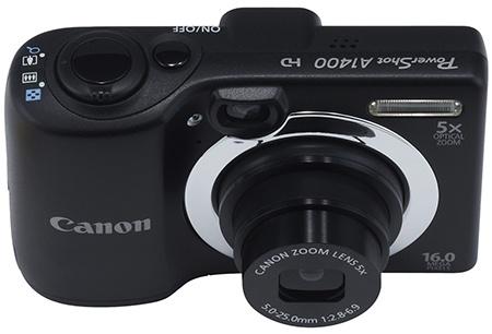Canon PowerShot A1400 shora