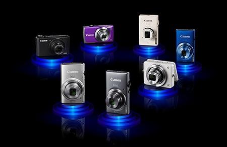 nové kompakty Canon IXUS a PowerShot