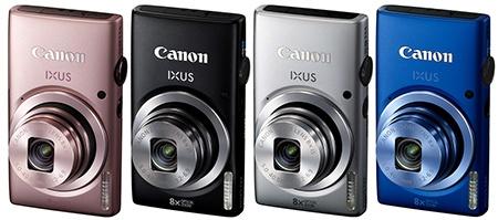 Canon IXUS 132 - nabízené barvy