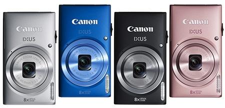 Canon IXUS 135 - nabízené barvy