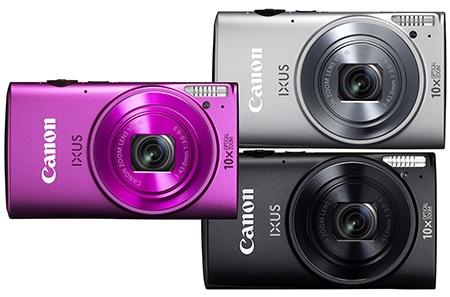 Canon IXUS 255 HS - nabízené barvy