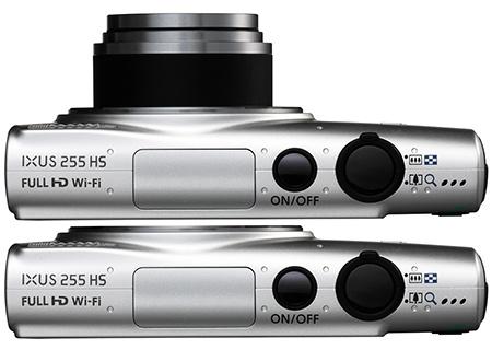 Canon IXUS 255 HS shora