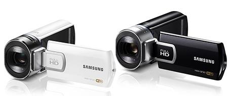 Samsung HMX-QF30 - černá a bílá