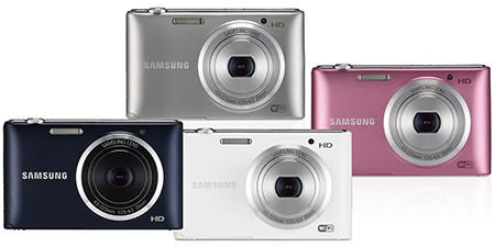 Samsung ST150F - nabízené barvy