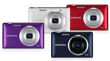 Samsung ST72 - nabízené barvy