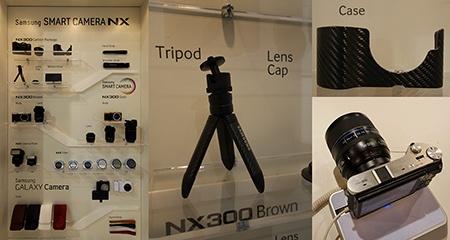 Samsung Smart Camera NX plus příslušenství