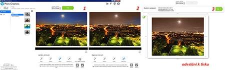 HP Photo Creations - použití sépiového airbrushe