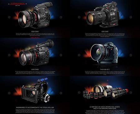 Canon Cinema EOS produkty