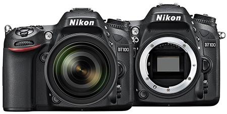 Nikon D7100 zepředu/bajonet