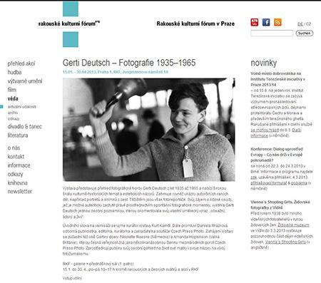 Gerti Deutsch – Fotografie 1935–1965