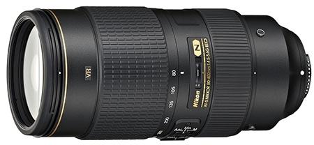 Nikon AF-S Nikkor 80−400 mm 1:4,5−5,6G ED VR