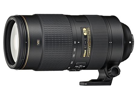 Nikon AF-S Nikkor 80−400 mm 1:4,5−5,6G ED VR + Tripod Collar