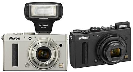 Nikon Coolpix A - blesky