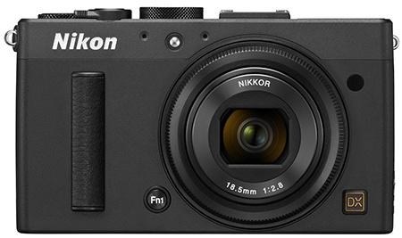 Nikon Coolpix A zepředu