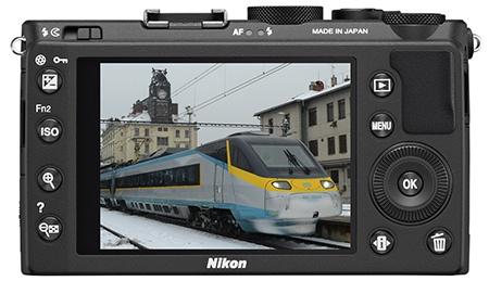 Nikon Coolpix A - displej