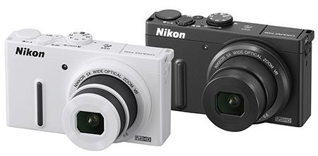 Nikon Coolpix P330 - černý a bílý