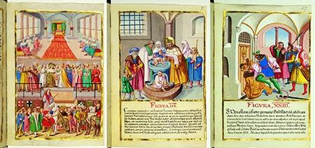 Svatý Václav ve středověkém komiksu