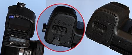 Sony Alfa NEX-6 - baterie a karta