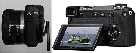 Sony Alfa NEX-6 - výklopný displej