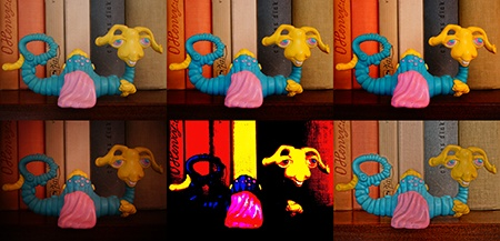 Sony Alfa NEX-6 - barevné efektové filtry