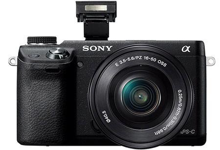 Sony Alfa NEX-6 - blesk