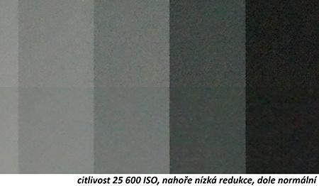 Sony Alfa NEX-6 - redukce šumu