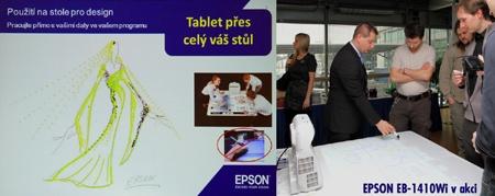Novinky Epson na tiskové konferenci I: Epson EB1410Wi