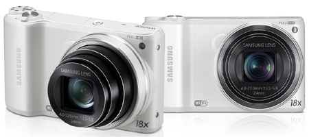 Samsung WB250F + GALAXY Pocket
