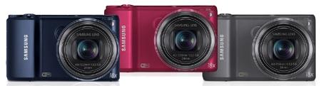 Samsung WB250F - atraktivní barvy