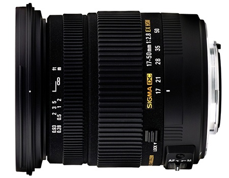 Sigma 17–50 mm 1:2,8 EX DC OS HSM