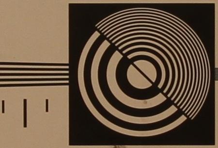 zkušební tabulka: 17 mm - clona 5,6