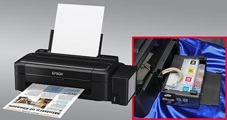 Epson řešení nízkonákladového inkjetu