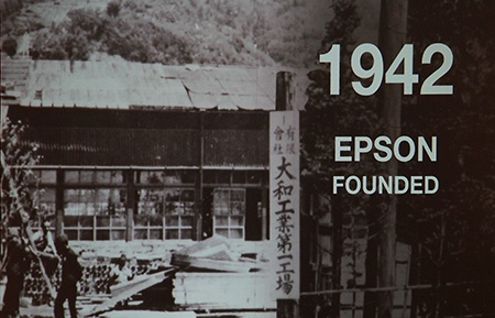 bohatá historie firmy Epson
