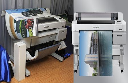 Epson SureColor SC-T7000, SC-T5000 a SC-T3000