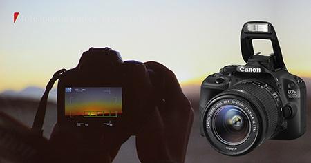Canon EOS 100D - blesk