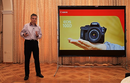 prezentace Canon EOS 100D na TK v Praze