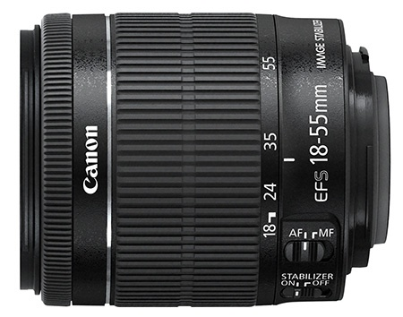 Canon EF-S 18–55 mm f/3,5–5,6 IS STM