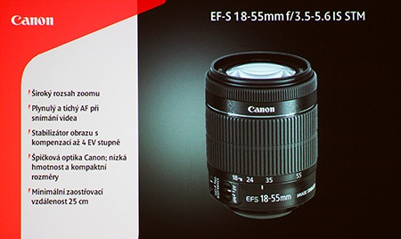 Canon EF-S 18–55 mm 1:3,5–5,6 IS STM na TK